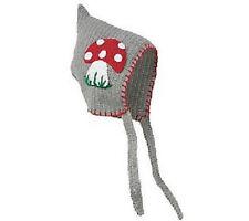 San Diego Hat GRAY MUSHROOM Pixie Bonnet Beanie 0-6 months baby boy girl gift