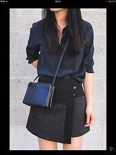 Zara Mini Jupe Jacquard Enveloppe