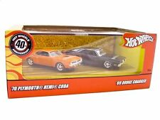 1970 Plymouth Hemi Cuda & 1969 Dodge Charger Set 1/64