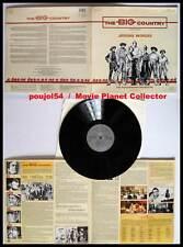 THE BIG COUNTRY - Peck,Heston,Simmons (Vinyle 33t-Vinyl LP) J.Moross 1988