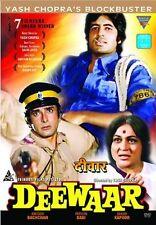 DEEWAAR (AMITABH BACHCHAN, SHASHI KAPOOR) ~ BOLLYWOOD DVD