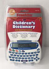 Franklin Handheld Electronic Speller & Dictionary Hw-1216 Homework Study New
