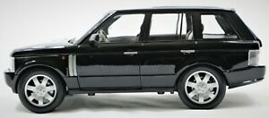 2003 RANGE ROVER WITH SUNROOF MODEL CAR DIE-CAST 1:18 SCALE   BLACK