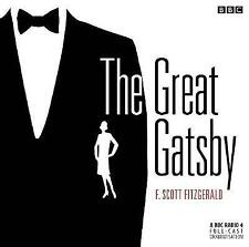 THE GREAT GATSBY - F SCOTT FITZGERALD  2  CD BBC AUDIO BOOK NEW/UNSEALED