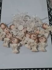 12 pcs Girl Baptism First Communion / KeyChain Bautizo Llavero Favor Migajon