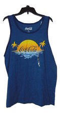 COCA COLA TANK TOP SIZE XL NEW WITHOUT TAGS COTTON POLY MIX
