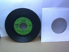 Old 45 RPM Record - Columbia 4-42994 - Jerry Vale - As Sure As Night Must Fall