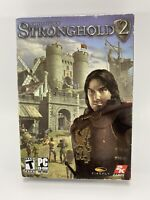 Stronghold 2 - PC CD-ROM Game Firefly Studios New Sealed
