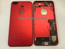 """iphone 7+ 7 PLUS 5.5"""" RED New Replacement Housing/Chassis With Genuine Parts."""