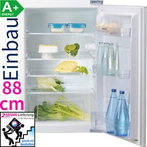 Ignis 88 cm Einbau Kühlschrank Integrierbar LED Schlepptür 131 L. Nutzinhalt A+