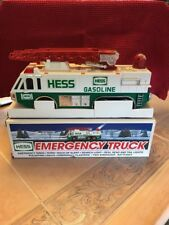 1996 HESS EMERGENCY TRUCK w/LADDER ~ REAL WORKING HEAD & TAIL LIGHTS AND SIRENS