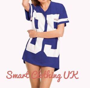 Tommy Hilfiger Women's Logo Loungewear/Nightdress Short Sleeve  (RRP £65)