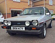 Ford Fiesta XR2 MK1 1982 Y reg