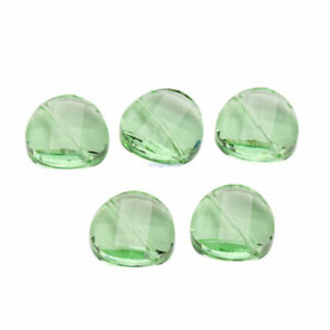 14 18mm Faceted Glass Crystal Rondelle Beads Spacer Loose Bead Finding 10Pcs