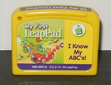 Leap Frog My First LeaPad I Know My ABC Cartridge