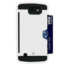 For LG Optimus Zone 3/K4/Spree/Rebel Hard Case Cover Credit Card Stand
