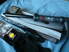ISO TWISTER 13-25mm CLIPLESS PRO HAIR CURLING IRON CURLER BLACK
