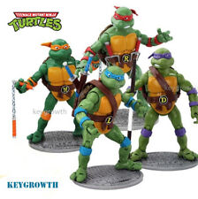 4PCS Teenage Mutant Ninja Turtles Set TMNT Action Figures Vintage Classic 1998