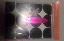Hallmark Pink And Black Polka Dot Invitation Cards Brand New Set Of 10