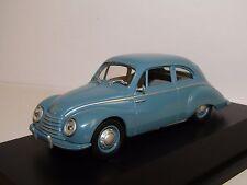 SCHUCO DKW 3=6 F91 BLUE 1/43 AUDI-AUTO UNION BOX