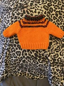 "Handmade ""TEDDY Jumper "" For 10-12"" Teddy Doll Or Medium Jellycat"