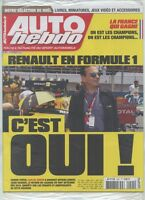 AUTO HEBDO n°2041 NEUF du 09/12/2015 : F1 Renault revient - Champions français