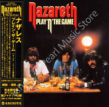 NAZARETH PLAY 'N' THE GAME CD MINI LP OBI + bonus tracks album oop old stock