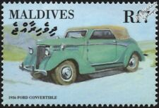 1936 FORD Roadster Convertible Mint Automobile Car Stamp (2000 Maldives)
