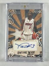 DWYANE WADE -- 2006-2007 Topps Luxury Box 1-COLOR PATCH JERSEY AUTO #/139