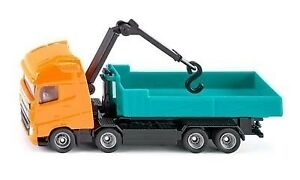 Volvo Roll-Off Tipper with Crane - 1:87 Scale