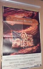 CF1 Original Heaven's Gate Kris Kristofferson MOVIE Poster Argentina 1994
