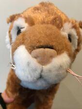 """Fiesta Standing Tiger 12"""" Plush Stuffed Animal Orange Brown Black Stripe White"""
