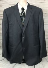 Giorgio by Giorgio Cosani Men's 52L Charcoal Wool/Cashmere 2 Button Blazer