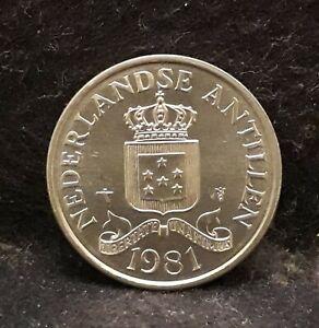 1981 Netherlands Antilles (Dutch Territory) 2 1/2 cents, UNC, KM-32 (NA3)   /N59