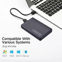 "2.5"" USB3.0 SATA3.0 Hard Drive HDD SDD Enclosure External Laptop Disk Case"
