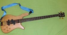 Bass Warwick Streamer Stage I 4 string 1987 ;  Von Scorpions Bassist Francis B.!