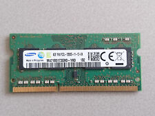 RAM 4GB DDR3 PC3L-12800S 1Rx8 1600MHz PORTATILE MEMORIA 204PIN SODIMM NOTEBOOK