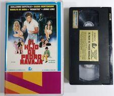 El Hijo de Pedro Navaja 1987 VHS Tape Mexican Action Drama Horror Cult Thriller