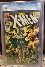X-Men #50 Marvel 1968 Jim Steranko 1st Polaris cover 2nd app CGC 9.4 WHITE pages