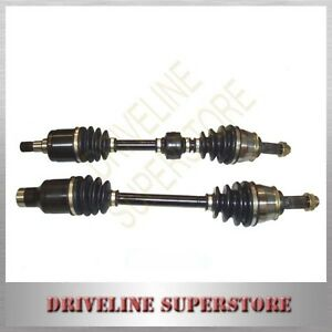 FORD LASER KN  KQ manual year 1999-2003 TWO BRAND NEW CV JOINT DRIVE SHAFT