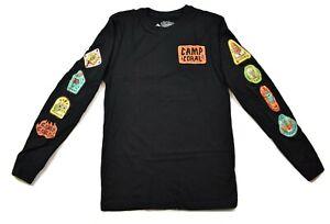 Nickelodeon Juniors Spongebob Squarepants Camp Coral Badge Shirt NWT XS-3XL