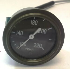 WWII ford GPW✅(qt1 A8188-MB, qt1 temp-adapt) Water Temperature Gauge with adapt