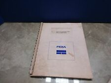 FIDIA LIST OF PARAMETERS AND COMMANDS MD0424-1-07/92 COPY MILL