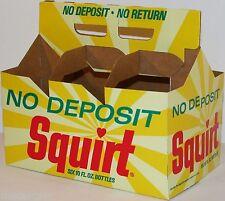 Vintage soda pop bottle carton SQUIRT 1968 NDNR unused new old stock n-mint+
