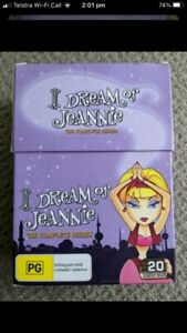 I Dream Of Jeannie DVD BEL complete set all 5 series in a box. Larry Hagman
