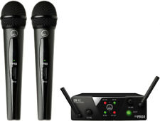 AKG WMS40 Mini Dual Mini2 Vocal Set Wireless Microphone System New