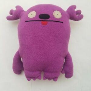 """Uglydolls Ugly Doll MR KASOOGI 13"""" Purple Plush Monster Stuffed Toy"""