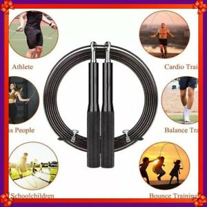 Speed Skipping Rope for Adult Women Fitness, 3m Adjustable Jump Rope with Anti-s