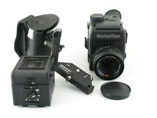 Rollei Rolleiflex SL 2000 F motor SLR + Planar 1,8/50 HFT + Griff grip