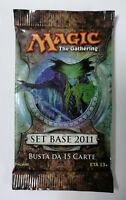 Magic The Gathering MTG SET Base 2011 Booster bustina in Italiano Sealed
